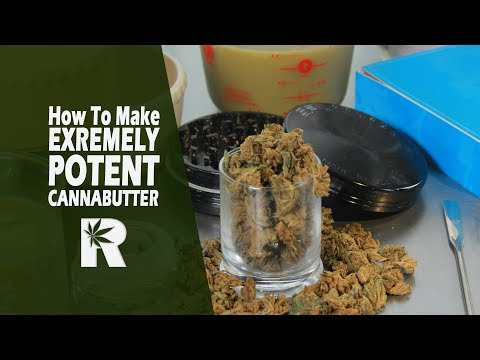 How To Make Extremely Potent Cannabutter/ Canna-oil (Using a 2-Stage Infusion): Cannabasics #71