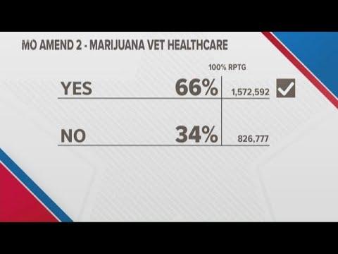 Prop 2 passes in Missouri; medical marijuana legalized