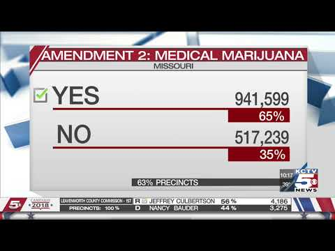 Missouri Medical marijuana issue Amendment 2 approved by voters