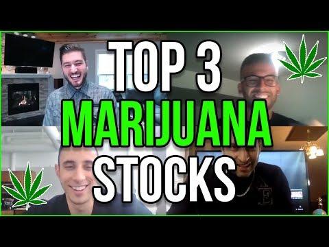 TOP 3 MARIJUANA STOCKS 2019
