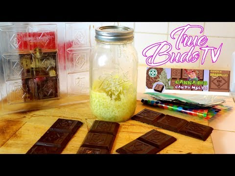 How to Make Cannabis Chocolate Bars: True Buds TV: Cannabis Candy Molds