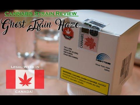 Cannabis Strain Review: Ghost Train Haze – LEAGL WEED IN CANADA!