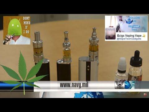 U.S. Navy Vaping Cannabis THC E-liquid – Exclusive 🔞
