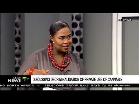 Discussing decriminalisation of private use of cannabis