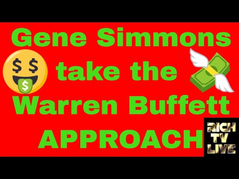 Gene Simmons Investing Into Cannabis (GENE) (IVITF) taking the Warren Buffett approach