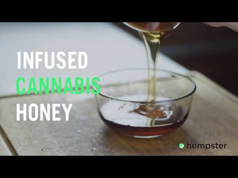 Make Delicious Cannabis Infused Honey