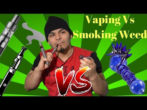 Vaping Weed Vs Smoking Cannabis | Anthony Lopez