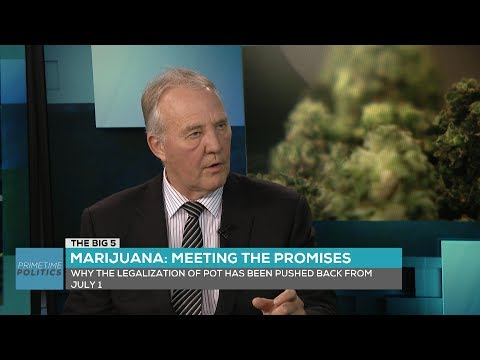 """The Big 5"" – Blair remains hopeful for legal cannabis by July"
