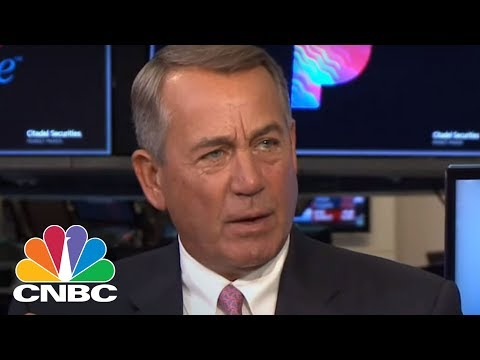 Former Speaker John Boehner On Legalizing Marijuana   CNBC