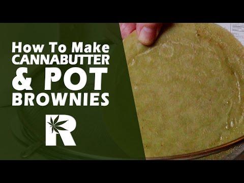 How to Make Cannabutter & Pot Brownies – Cooking with Marijuana #19