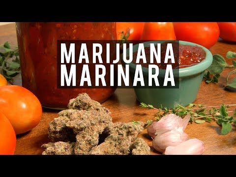 How to Make Marijuana Marinara (Cannabis Infused Tomato Sauce Recipe): Cannabasics #96