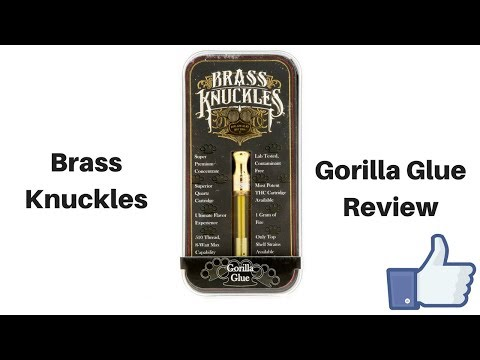 Brass Knuckles Gorilla Glue Vape Cartridge Review