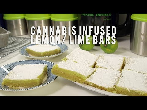 How to Make Cannabis Infused Lemon/ Lime Bars: Infused Eats #47