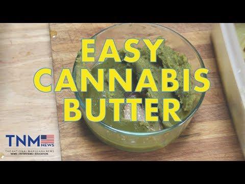 Easy Cannabis Butter Recipe   TNMNews Recipes