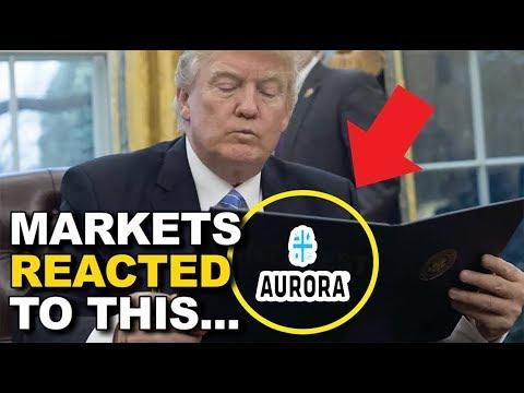 APHRIA NEWS UPDATES, AURORA CANNABIS, CANOPY, NAMASTE, HUAWEI CFO ARREST! STOCK MARKET UPDATES!