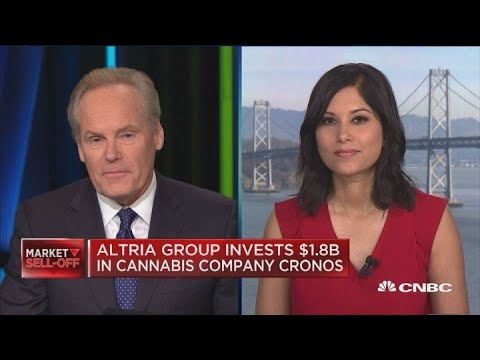 Altria Group invests $1.8 billion in cannabis company Cronos Group