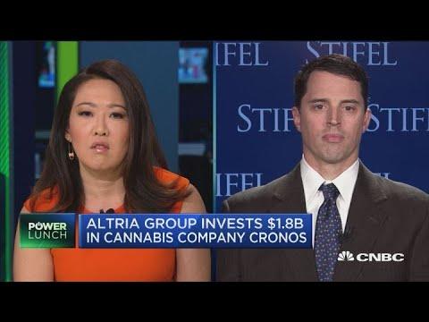 Cronos deal gives Altria a global cannabis platform, says analyst
