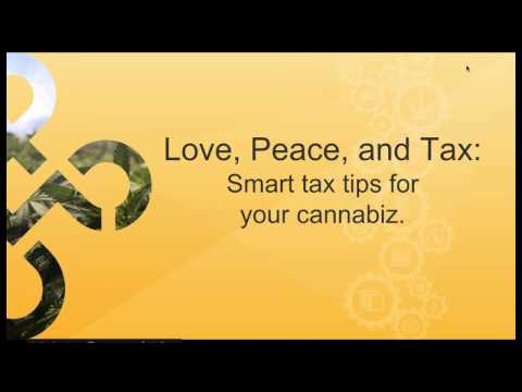 Tax Tips for Your Cannabis Business