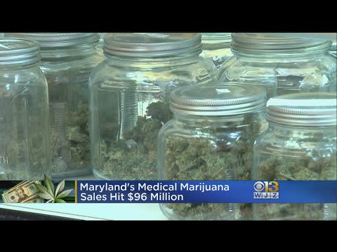 Maryland's Medical Marijuana Sales Hit $96 Million
