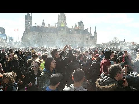 Canada is first major economy to legalize recreational marijuana