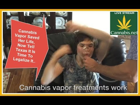 Vaping Cannabis Saved Her Life, Now Texas Need To Legalize Cannabis