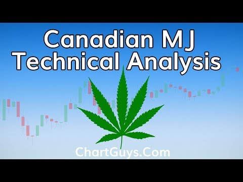 Canadian Marijuana Stocks Technical Analysis Chart 10/17/2018 by ChartGuys.com