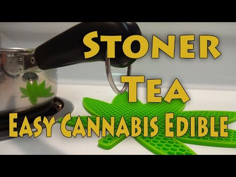 Easy Cannabis Tea Recipe
