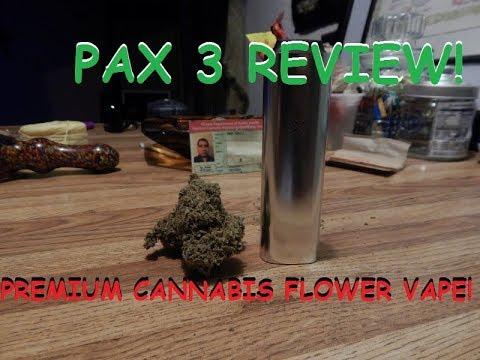 Pax 3 Premium Cannabis Flower Vape – Unboxing & Review