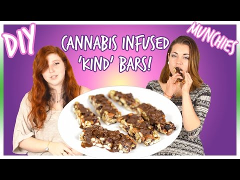 WOW || Medicated Recipes: How To Make Cannabis Infused Kind Bars!