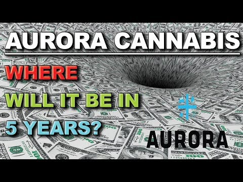 WHERE WILL AURORA CANNABIS BE IN 5 YEARS??