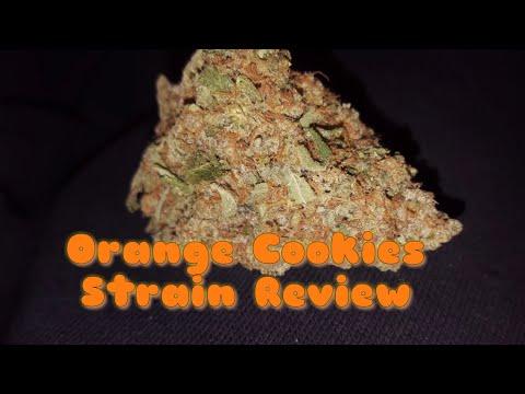 NEW CANNABIS STRAIN UK(🍊 Orange Cookies REVIEW🍊)