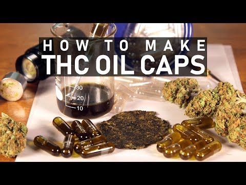 How To Make Cannabis Oil Capsules (THC Caps): Cannabasics #85