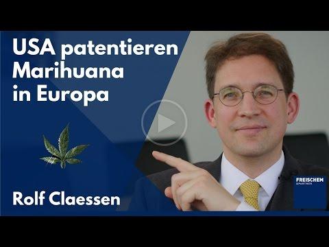 Patent auf Marihuana – die USA patentieren Verwendungen von Cannabis