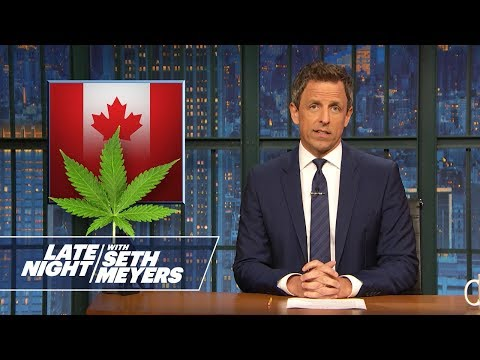 Canada Votes to Legalize Marijuana, Trump Jr.'s Nickname – Monologue