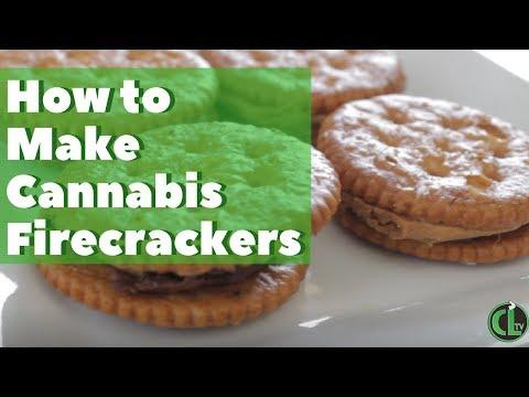 Firecracker Edibles Recipe (Single Dose Cannabis Edible)   Cannabis Lifestyle TV