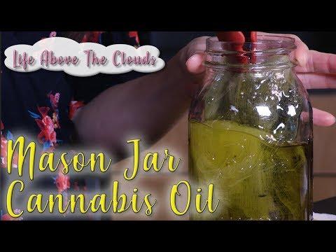 Make Cannabis Oil in a Mason Jar – Odor Free!