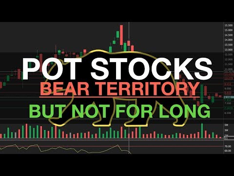 POT STOCKS in BEAR TERRITORY but NOT FOR LONG