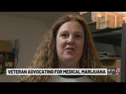 Veteran advocating for medical marijuana