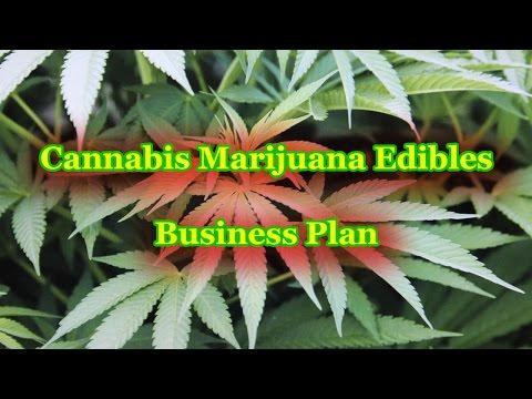 Cannabis Marijuana Edibles Company Business Plan Template
