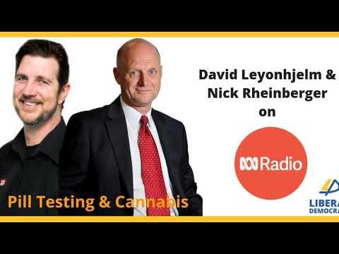 David Leyonhjelm on pill testing and cannabis