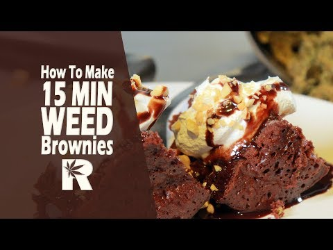 How To Make Weed Brownies in 15 Minutes (Cannabis Infused Single Serve Mug Cakes): Cannabasics #65