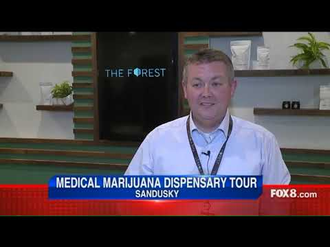 Medical marijuana dispensary tour