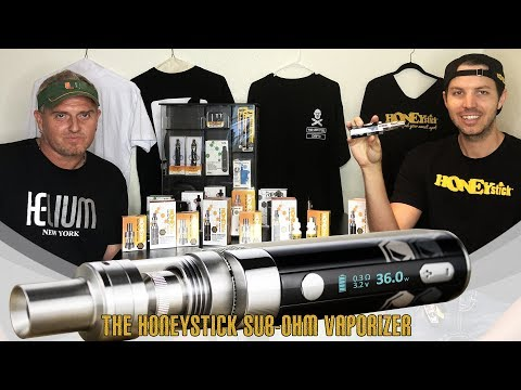OG – Original HoneyStick Sub Ohm Oil Vape Kit – Cannabis Cup Award Winner Vape for Oil & Wax