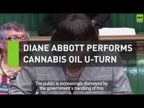 Diane Abbott performs cannabis oil U-turn