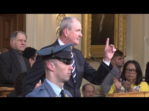 Gov. Murphy State of the State: Legalizing marijuana