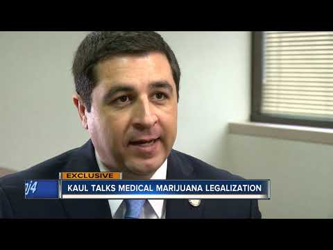 Attorney General Josh Kaul advocates for legalizing medical marijuana