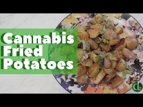 Cannabis Fried Potatoes Recipe