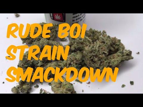 Rude Boi Strain Smackdown Cannabis Marijuana Weed Strain Review