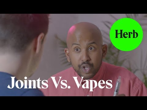 Joints vs. Vapes – Just Being Blunt