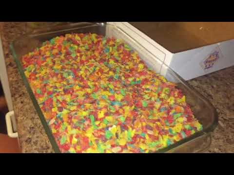 Fruity pebble edibles